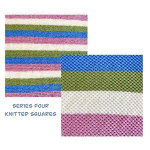 The Crafty Co Knitting Series Four BOM Blanket Kit