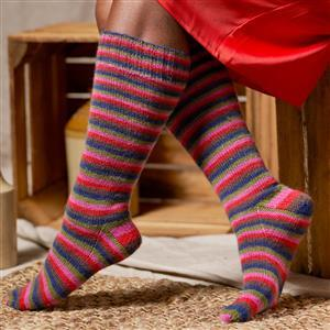 WYS Zandra Rhodes Kelly Long Socks