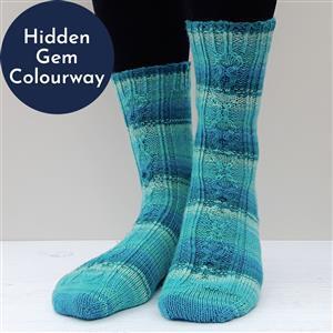 Winwick Mum Hidden Gem Love Spoon  Sock Kit