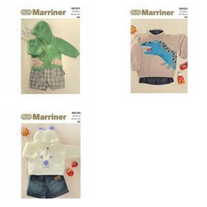 Toddler Knitting Patterns: Pack of Three