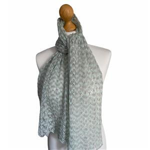 Twink Knits Glacier Moorlands Laceweight Scarf Kit