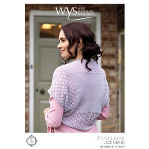 WYS Exquisite Penelope Shrug Pattern