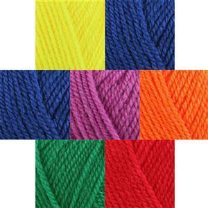 Rainbow Yarn Pack 7x 25g Balls of Dolly Mix DK