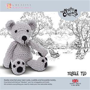 Knitty Critters Toggle Ted Kit