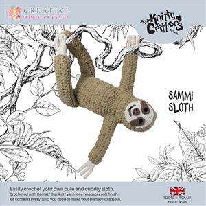 Knitty Critters Sammi Sloth Kit