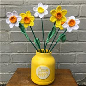 Adventures in Crafting Daffodils Bouquet Crochet Kit