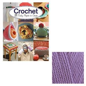 Crochet - 13 Funky Projects to Create Book by Claire Culley & Amy Phipps: with 100g of Cotton DK Yarn Free