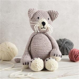 Wool Couture Mink Chloe Cat Knitting Kit