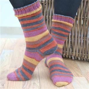 Marriner Cosy Toes 4 Ply Sock Knitting Pattern