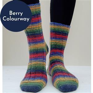 Winwick Mum Holly Berry Boxy Rib Sock Kit