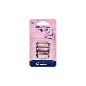 Silver Bag Strap Adjuster