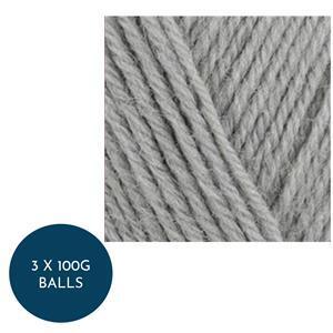 WYS Silver Grey Colour Lab DK: 3 x 100g