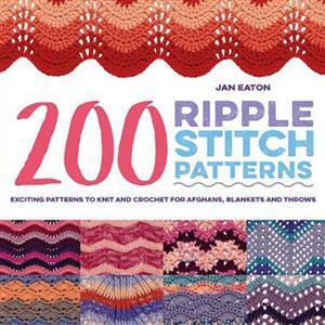 200 Ripple Stitch Patterns Book by Jan Eaton SAVE 20%