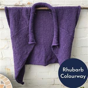 In The Wool Shed Rhubarb Swaraj Small-Medium  Kit