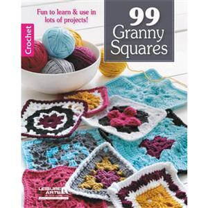 99 Granny Squares Booklet by Leisure Arts